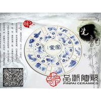 景德镇市品派陶瓷厂家包邮餐饮饭店特大装菜用的大盘子