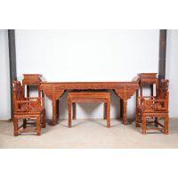 榆林红木家具-亿诺红木家具-门厅红木家具-红木家具-中堂六件套