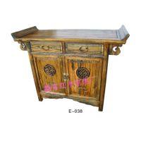 厂家直销 推拉式玄关柜 双面玄关柜 中式门厅柜 实木家具