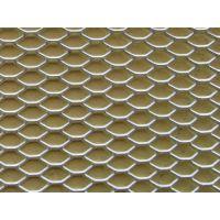小铝板网,炳辉网业(图),铝板网格天花