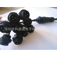 M19/ 3芯面板式 大电流 大功率 防水连接器 圆形 防水插头