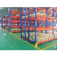 兰州重型货架厂家济南德嘉生产重力式货架 可放托盘承载3吨