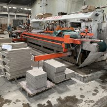 鸿发机械 专业生产HF-R1200 20头圆弧抛光机  加工梯级砖,地脚线,45°抛光机全自动