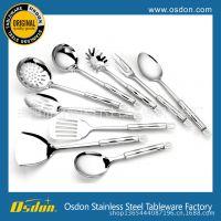 不锈钢厨具 新款 七套装 烹饪勺铲 厨房小工具 餐厨具厂家批发