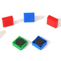 正方形白板冰箱贴塑料磁扣磁钉磁粒磁磁铁 20*20 30*30MM 钕铁硼