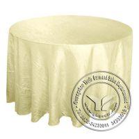 厂家直销   耐用经典纯色外贸桌布  餐厅酒店涤纶餐桌布  套装