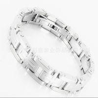 DLXZZ 同款原创男女通用钛钢螺丝装配手镯 结实 时尚新款欧美手饰加工厂家定做钢钉