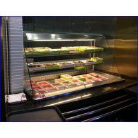 立式开放式菜品保鲜柜 自助烧烤店冷藏柜定做 益阳烤肉店展示自选柜