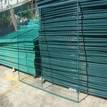 钢板网护栏网厂家 公路围栏网生产厂家 双边丝护栏网价