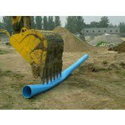力达厂家供应高强度PVC-O管 PVC硬管 太极蓝管给水管材