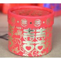 供应 加工喜糖盒丨圆筒喜糖盒丨创意喜糖包装盒丨沧州制作丨报价
