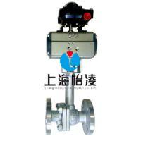 低温阀门 上海怡凌DQ641气动低温法兰球阀 厂家直销 选择