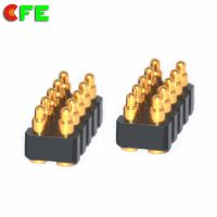 【CFE】厂家供应 10pin pogopin电池连接器 精密弹簧针连接器 性能稳定
