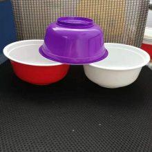 1000ml金色塑料打包碗/米线塑料pp打包碗