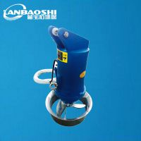 山东潜水搅拌机厂家蓝宝石直销 消化池潜水搅拌机 污水搅拌器