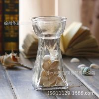 玻璃瓶 风信子方底玻璃瓶 风信子玻璃缸 花瓶 花卉植物水培 插花