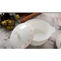厂家直销批发骨质瓷餐具粉蓝记忆48头餐具
