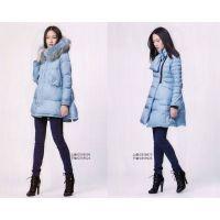 意大利一线高端品牌哥邦冬装双面羊绒大衣、羽绒服尾货批发