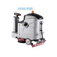 销冠科的GBZ-660B驾驶式洗地机,通过性强
