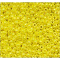 供应 环保玻璃米珠 名彩玻璃珠 手工串珠材料配件  服装饰品配件