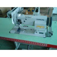供应标准牌GC20606DU双针车 中厚料综合送料平缝机 汽车脚垫针车