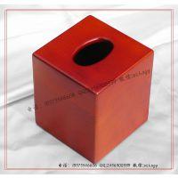木制酒店用品 酒店纸质盒 木纸巾盒 木质纸巾盒批量生产订做