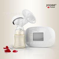 正品液晶电动吸奶器自动吸奶器电动吸乳器挤奶器催奶吸力大静音