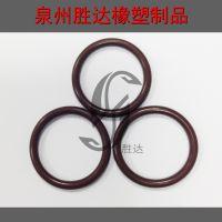 供应氟橡胶密封圈 橡胶O 型 圈标准件内径*线径7.6*1.1