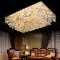 武汉客厅灯价格武汉水晶吸顶灯现代餐厅灯厂家05卧室灯工程大厅灯饰灯具