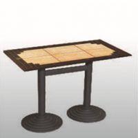 实木餐桌椅快餐桌圆桌圆桌酒店餐桌火锅店餐桌椅桌子