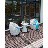 9.4户外仿藤家具 藤椅和藤桌子组合休闲桌椅套装TY-5877/5677