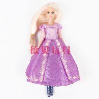 正版迪士尼梦幻芭比娃娃 白雪公主 彩盒过家家玩具批发供应
