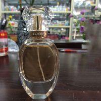 100ml高档抛光水晶玻璃香水瓶