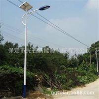 厂家直销 太阳能路灯批发 单臂农村道路灯 5米LED节能路灯