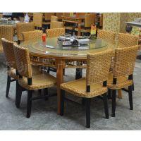 供应高档藤餐桌椅 餐厅餐桌椅 藤餐桌椅 美观耐用