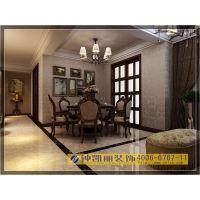 郑州钟凯丽-瀚宇天悦三房现代美式风格精装实景展示
