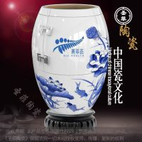 陶瓷小巴马 陶瓷巴马养生樽 负离子巴马养生缸订做