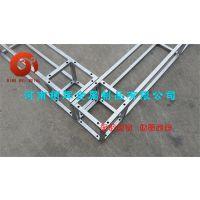 西安厂家直销钢铁桁架方管桁架背景架