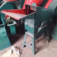 优质饲料粉碎机 高效锤片废纸树叶粉碎机