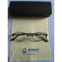 寰视眼镜HS-P-R-1001纯钛高度超薄眼镜定制