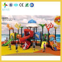 长沙幼儿园小区滑滑梯结构安全耐用 设计巧妙给孩子带来安全