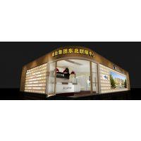 太原医博会特装展台/山西博物馆文化馆纪念馆设计装修/企业展厅设计装潢