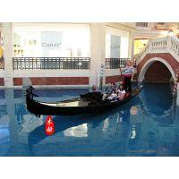 热卖7米威尼斯水城贡多拉 景点摄影装饰船 水上游玩船