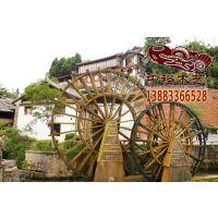 卖卖卖2015重庆的园林大景观水车江西贵州实木防腐木电动水车制作厂家