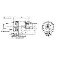 赛万特savant油路刀柄外冷转内冷刀柄冷却刀柄油路转换刀柄BT40-OSL32-155