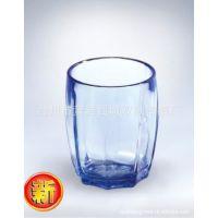 亚克力八角杯塑料八角杯透明八角杯