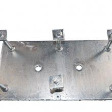 低价现货6mm8mm10mm厚冷镀锌平钢板预埋件