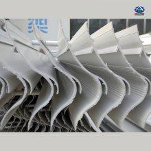 华强公司制作宜昌平板式除雾器、FRPP、玻璃钢除雾器