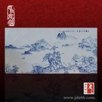 陶瓷瓷板画厂家 青花瓷板画供应商