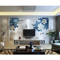朱居家 3D瓷砖背景墙 客厅沙发电视瓷砖背景 海底世界海洋馆壁画